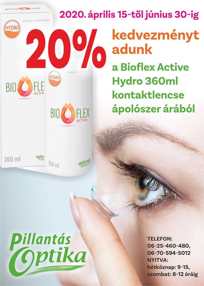Bioflex Active ápolószer 20% kedvezménnyel