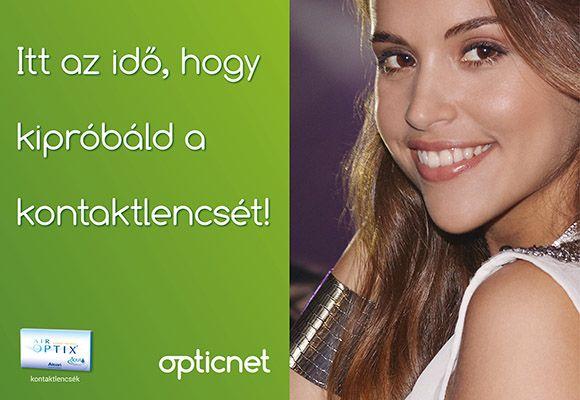 próbáld ki az Aior Optix kontaktlencsét