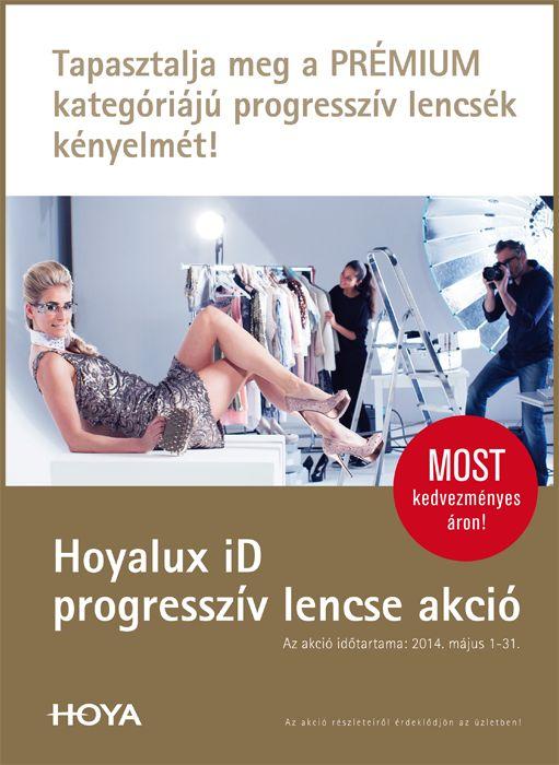 Hoyalux iD progresszív lencse akció