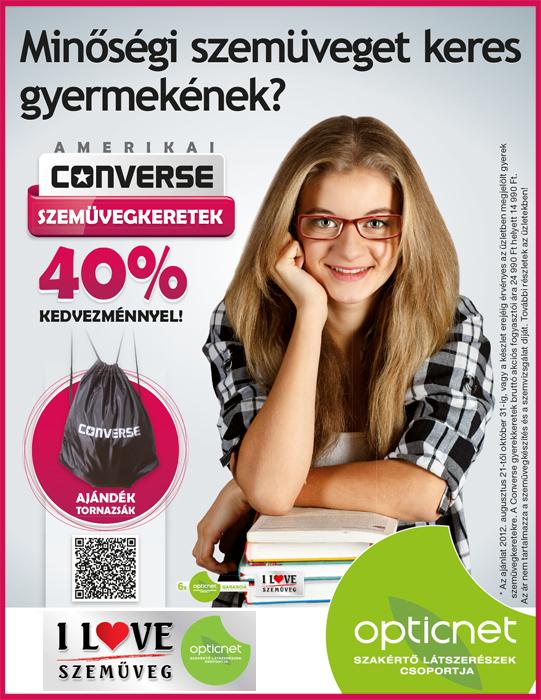 Converse szemüvegkeret akció