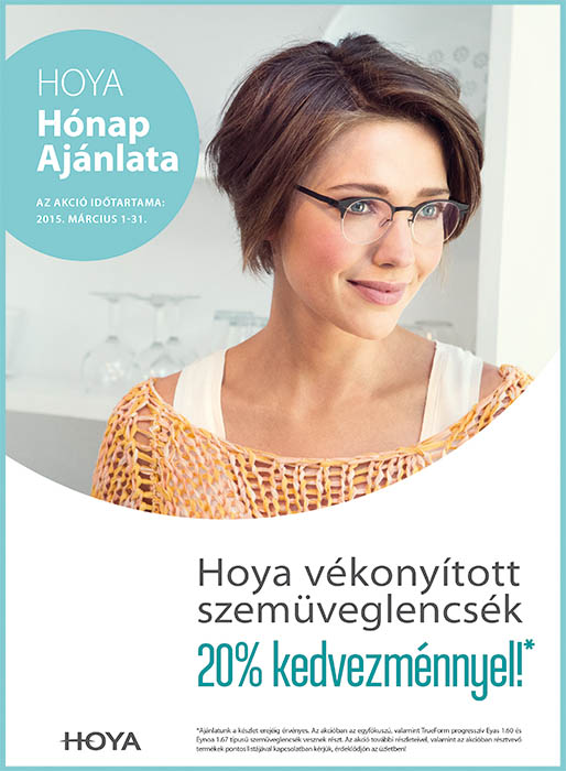 vékonyított szemüveglencse akció
