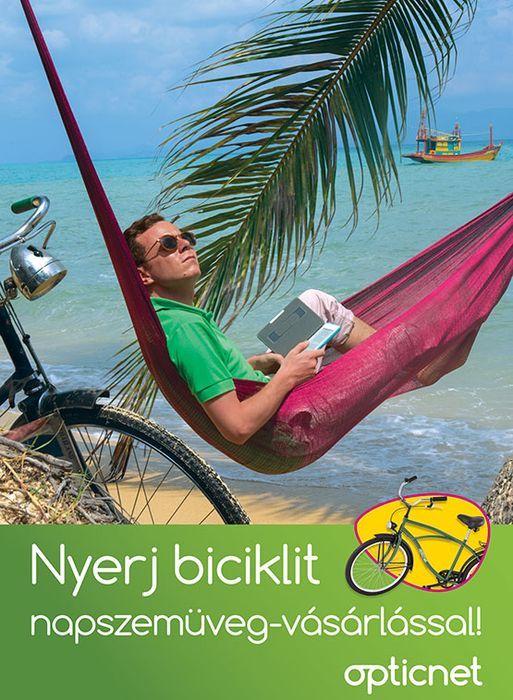 Nyerj biciklit napszemüveg-vásárlással