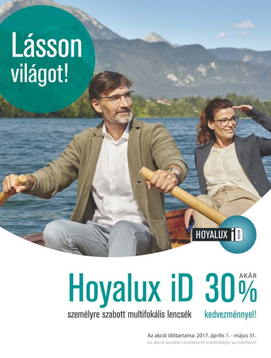 Hoyalux iD akció 30%