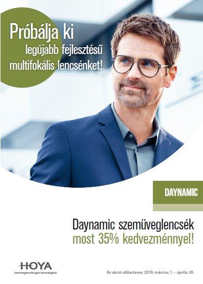 Daynamic multifokális szemüveglencse